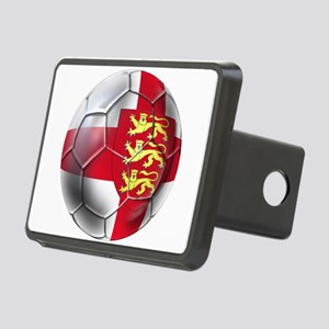 English 3 Lions Football Hitch Cover