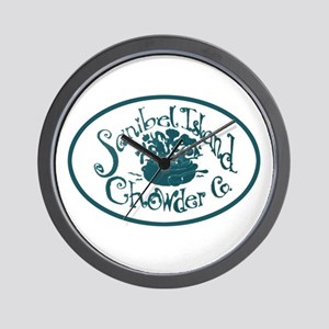 Sanibel Chowder Wall Clock