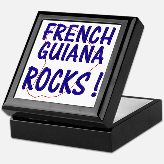 French Guiana Rocks ! Keepsake Box