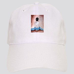 Blue Silk - Tattooed Cap