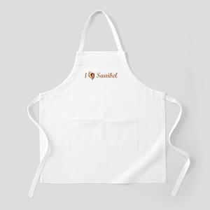 I Heart Sanibel BBQ Apron