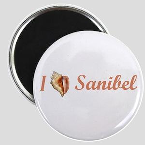 I Heart Sanibel Magnet