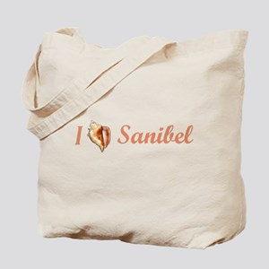I Heart Sanibel Tote Bag
