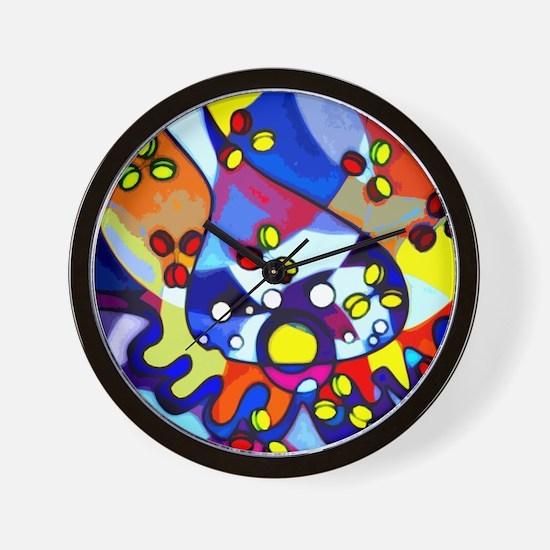 Cute Axon Wall Clock