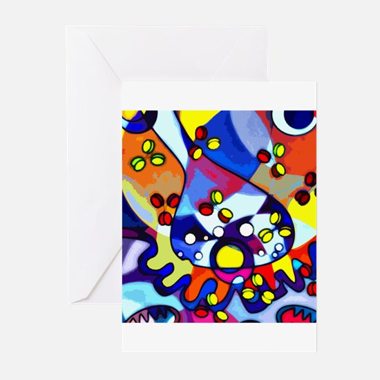Funny Nucleus Greeting Cards (Pk of 20)