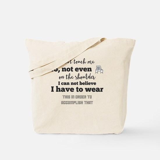Cute I believe wear Tote Bag