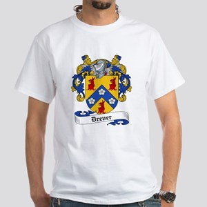 Drever Family Crest White T-Shirt