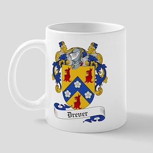 Drever Family Crest Mug