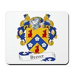 Drever Family Crest Mousepad