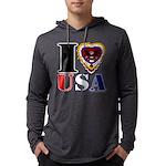 USA I LOVE USA Long Sleeve T-Shirt