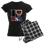USA I LOVE USA Pajamas