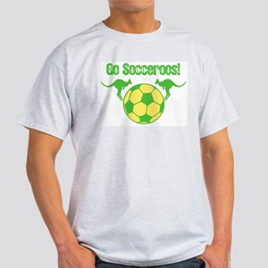 Australia Soccer Team White T-Shirt