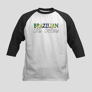 Brazilian Jiu Jitsu Kids Baseball Jersey
