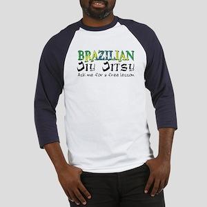 Brazilian Jiu Jitsu - Free Le Baseball Jersey