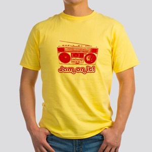 Boombox - Jam on It! Yellow T-Shirt