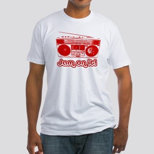 Boombox - Jam on It! Fitted T-Shirt