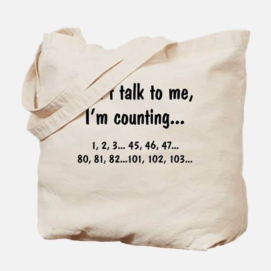 I'm counting Tote Bag