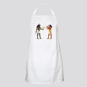Anubis and Thoth Art BBQ Apron