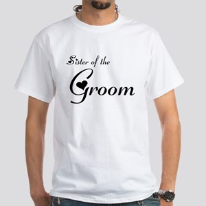 FR Sister of the Groom's White T-Shirt