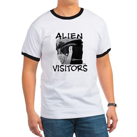 Alien Visitors Ringer T