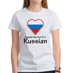 Happily Married Russian Women's T-Shirt