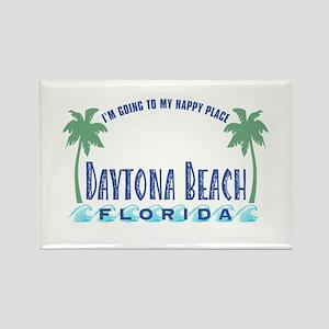 Daytona Happy Place - Rectangle Magnet