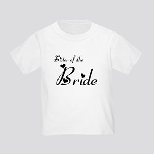 FR Sister of the Bride's Toddler T-Shirt