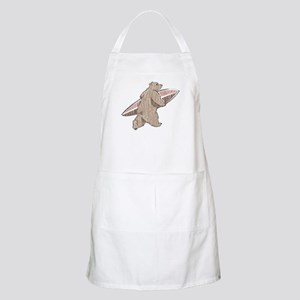 Surfing Brown Bear BBQ Apron