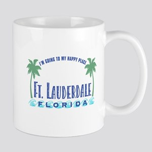 Ft. Lauderdale Happy Place - Mug