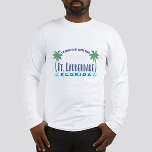 Ft. Lauderdale Happy Place - Long Sleeve T-Shirt