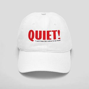 Quiet (voices) Cap