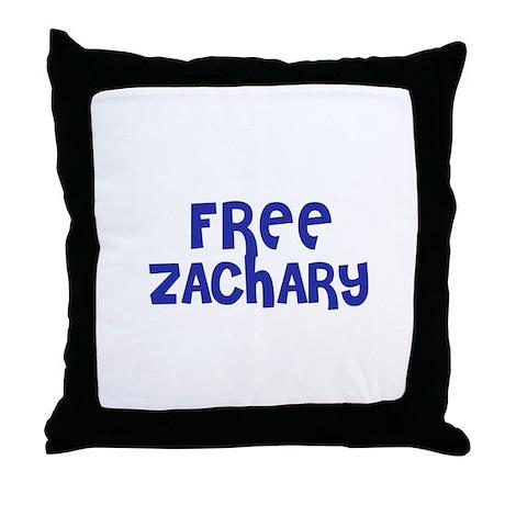 Free Zachary Throw Pillow