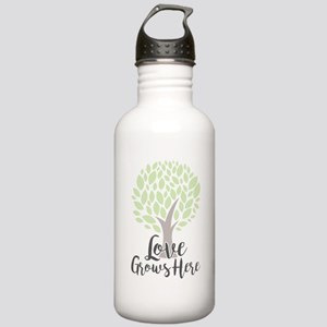 Love Grows Here Stainless Water Bottle 1.0L