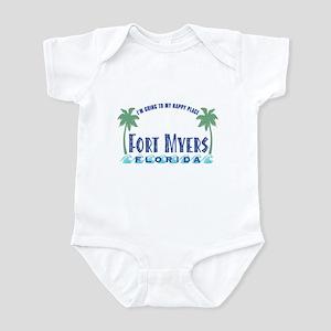 Ft. Myers Happy Place - Infant Bodysuit
