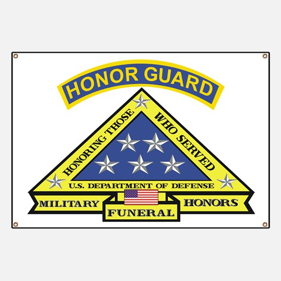 Honor Guard Banner