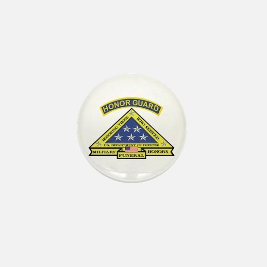Honor Guard Mini Button