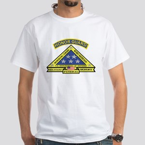 Honor Guard White T-Shirt