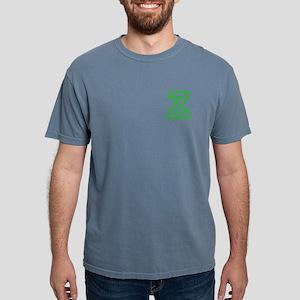 Z - GREEN, CAPITAL LETT Mens Comfort Colors® Shirt