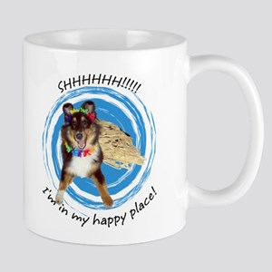 Happy Place Sheltie Mug