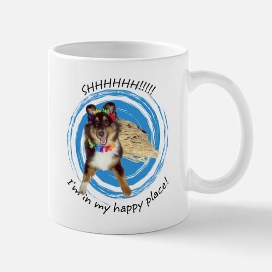Happy Place Sheltie Mug