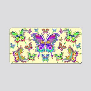 Butterfly Colorful Tattoo Style Pattern Aluminum L