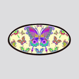 Butterfly Colorful Tattoo Style Pattern Patch