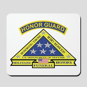 Honor Guard Mousepad