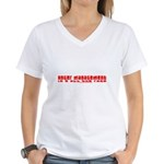 Anger Management Is All The R Women's V-Neck T-Shi