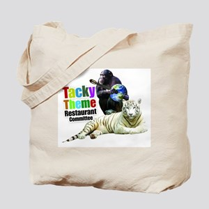 Tacky Theme Restaurant Committee Tote Bag