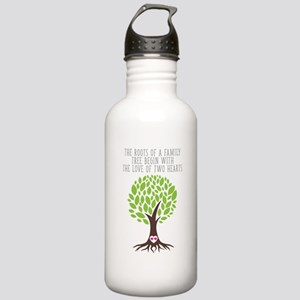 The Roots of Love Stainless Water Bottle 1.0L