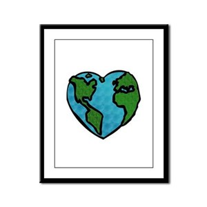 Earth Day Framed Panel Print