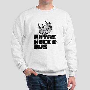 rhymenocerous graffiti Sweatshirt