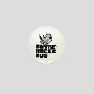 rhymenocerous graffiti Mini Button
