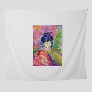Geisha! Beautiful art! Wall Tapestry